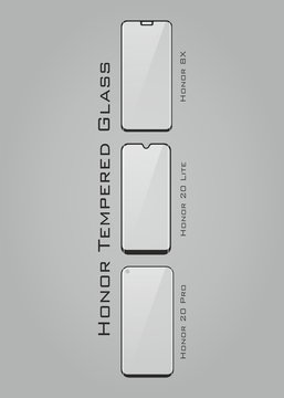 Tempered Glass Honor