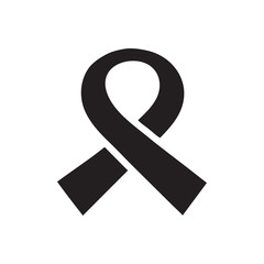 awareness ribbon icon vector template