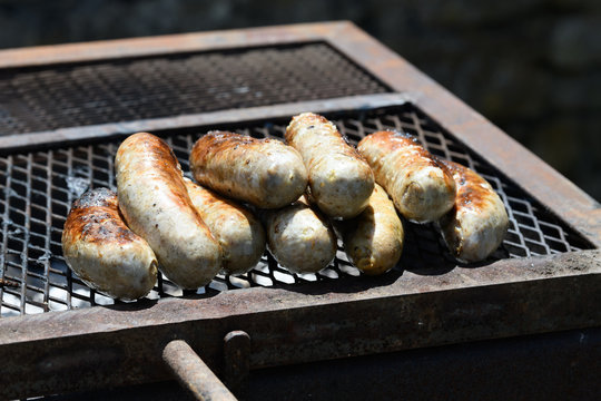 Andouillette au barbecue