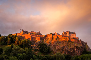 Edinburgh Castle at Sunrise, Edinburgh, Scotland