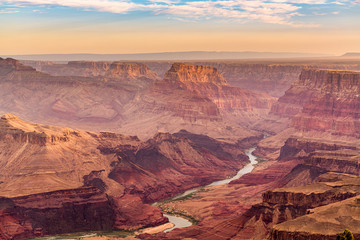 Fototapete - Grand Canyon, Arizona, USA from the South Rim