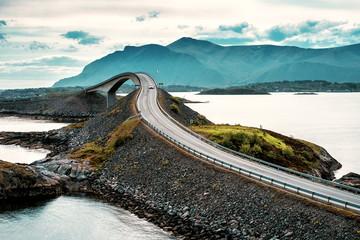Obraz Atlantic road. Norway - fototapety do salonu