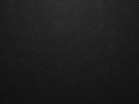 Grunge metal texture. Black metal background. Abstract vector illustration