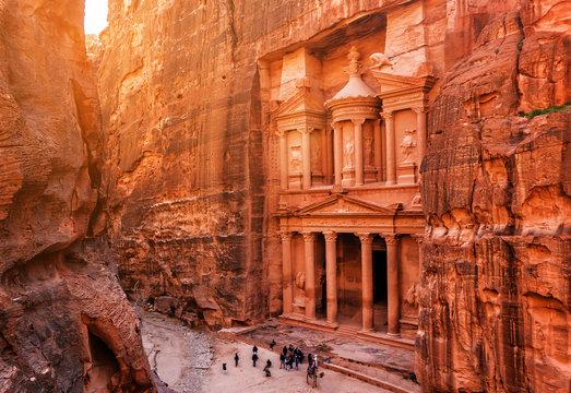 Al Khazneh (The Treasury) in Petra