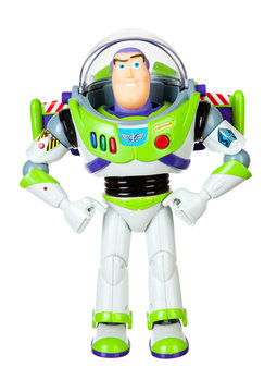 Saint Louis, MO . USA - 02.02.2011: Original Buzz Lightyear Toy From 1995 Release Of Toy Story