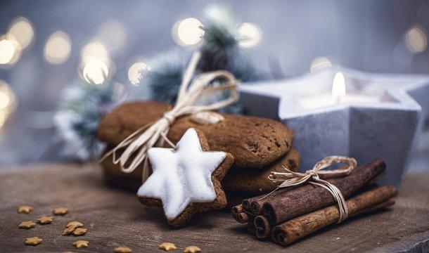 Hintergrund Weihnachtsgebäck