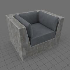 Outdoor single seat