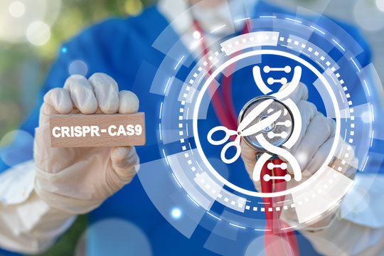 Crispr-cas9 biotechnology dna gene engineering and manipulation. Modern Innovative Healthcare. Crispr cas.