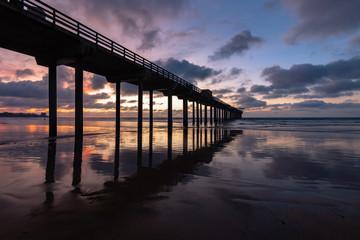 Scripps Pier San Diego La Jolla Sunset