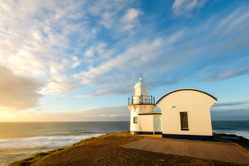 Tacking Point Lighthouse sunrise, Port Macquarie, NSW, Australia