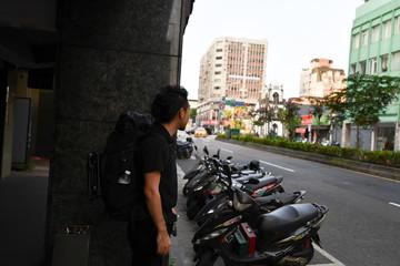 アジアのバックパッカー