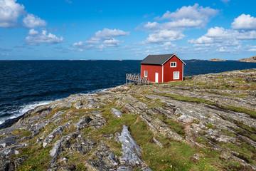 Wall Mural - Blick auf die Insel Åstol in Schweden