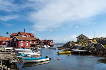 Wall Mural - Blick auf die Insel Käringön in Schweden