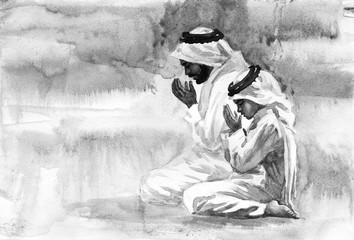 Men praying namaz