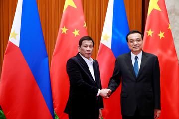 Philippine President Rodrigo Duterte visits China