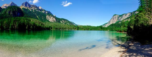 Lago Smeraldo nel Parco Naturale Adamello Brenta