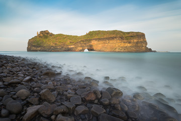 The spectacular Hole In The Wall near Coffee Bay in the Transkei (Wild Coast) - South Africa