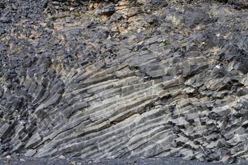Gesteinstruktur, Säulenbasalt