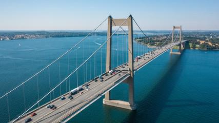 New Little Belt Bridge in Denmark Fototapete