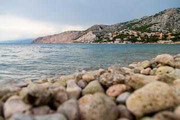 Widok na morze w Chorwacji oraz piękne wyspy