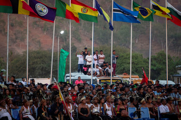 People gather as they attend the 20th Popular Consultation Day to commemorate the referendum of East Timor in Tasi Tolu, Dili