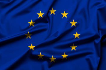 European Union flag as background Wall mural