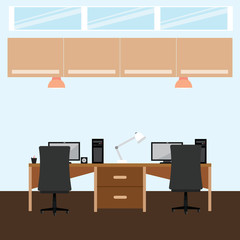 Abstract office background
