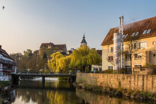 Backnang Biegel und Stadtturm