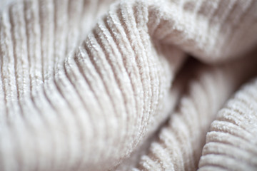 Wool fabric texture close up background