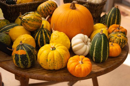 かわいいかぼちゃ