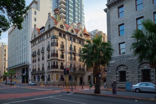 The Mandela Rhodes Building, Wale Street. Cape Town, South Africa. 21 July, 2018