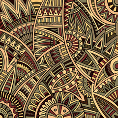 Abstract raster decorative nature tribal ethnic background