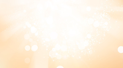 Golden sparkle blur abstract background. bokeh christmas blurred beautiful shiny Christmas lights