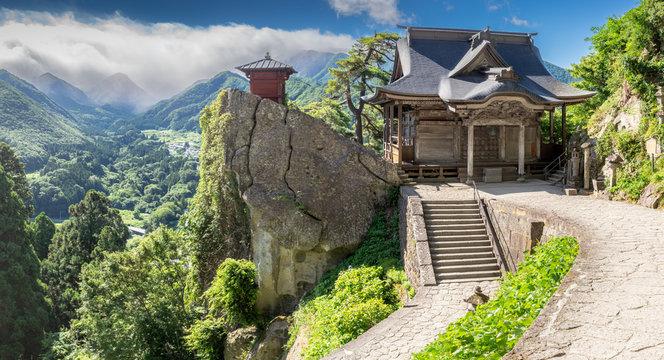 Yama-dera temple, Yamadera, Japan