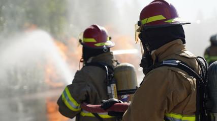 Industrial firefighter 3