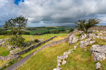 Wall Mural - Summer in the Yorkshire Dales
