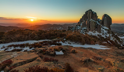 Sunset at The Cathedral, Mount Buffalo