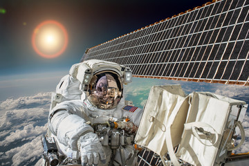 Wall Murals Nasa Astronaut in outer space