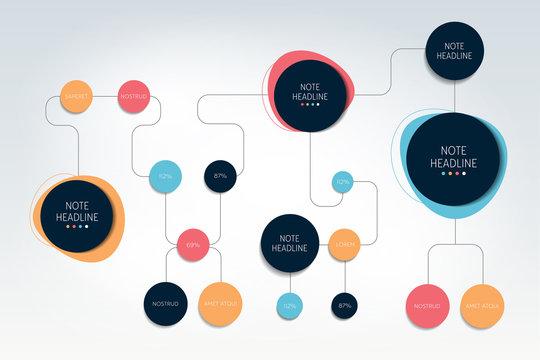 Flow chart, chart, diagram, template, scheme, infographic.