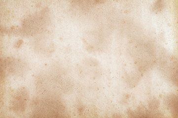 Old paper background, dirty apper texture with spots