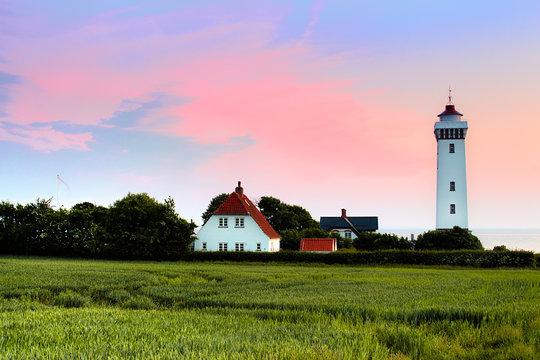 Helnæs Lighthouse - Denmark