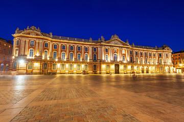 Poster de jardin Lieu d Europe Capitole or City Hall, Toulouse