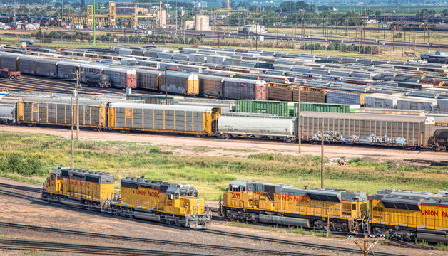 Union Pacific Bailey rail yard