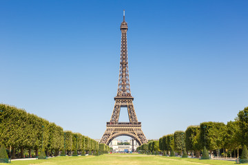 Eiffel tower Paris France copyspace copy space travel landmark
