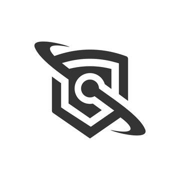 sheild logo template