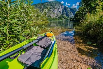 Wall Mural - Scenic Lake Kayaking