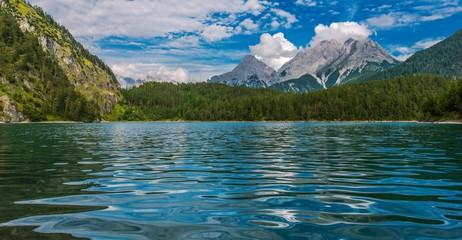 Wall Mural - Tyrol Austria Blindsee Lake