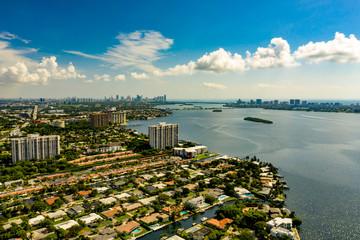 Miami Florida with views of Biscayne Bay Florida