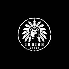 American Native, Indian Chief Logo