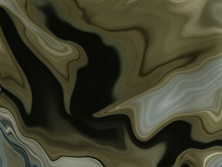 Earthy Browns Fluid Art Abstract Background